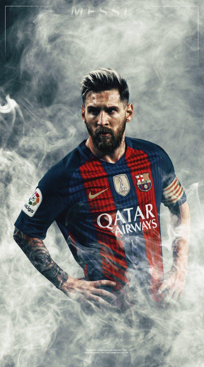 Lionel Messi By Designer Dhulfiqar On DeviantArt