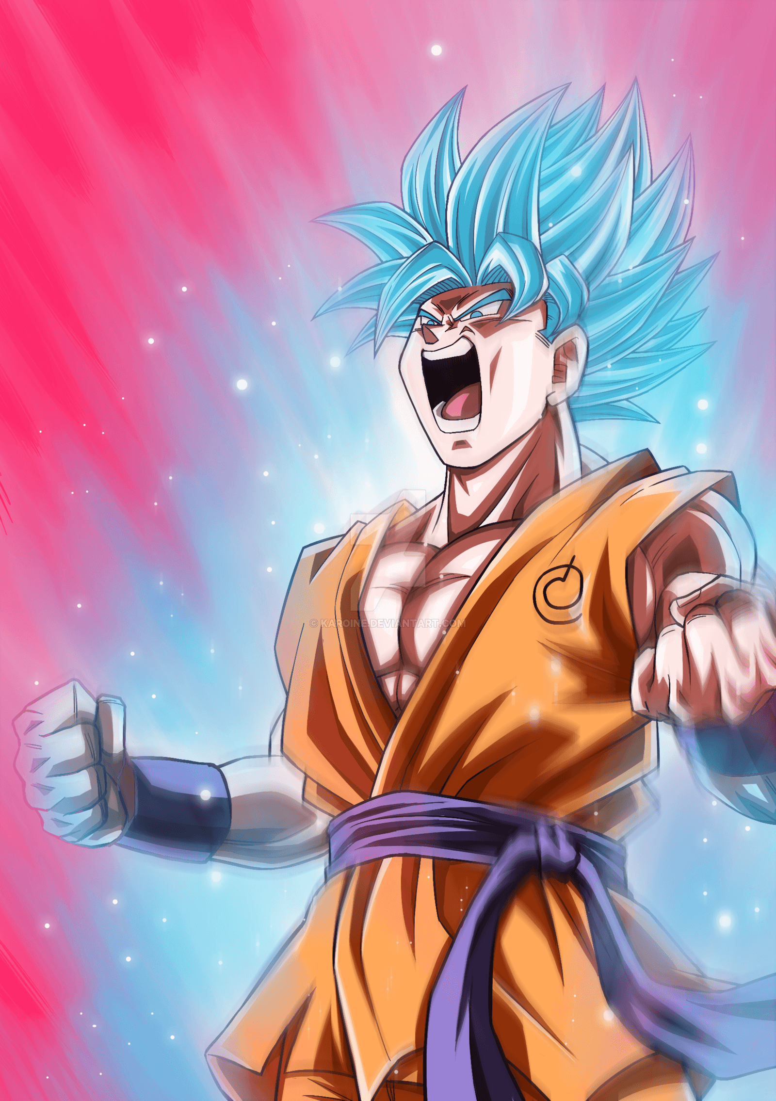 Goku Ssj Blue Wallpapers Wallpaper Cave