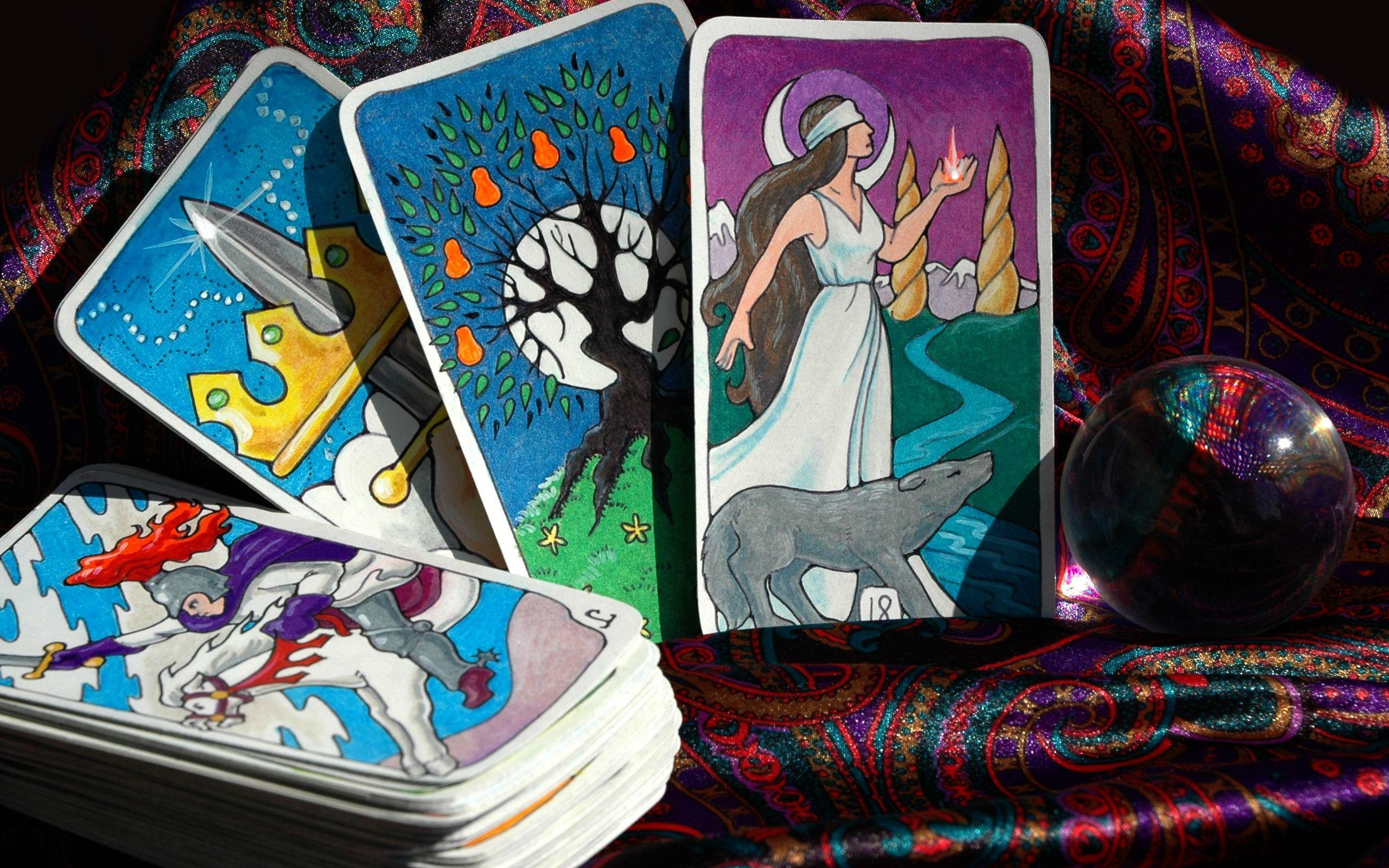 1 Tarot Cards HD Wallpapers