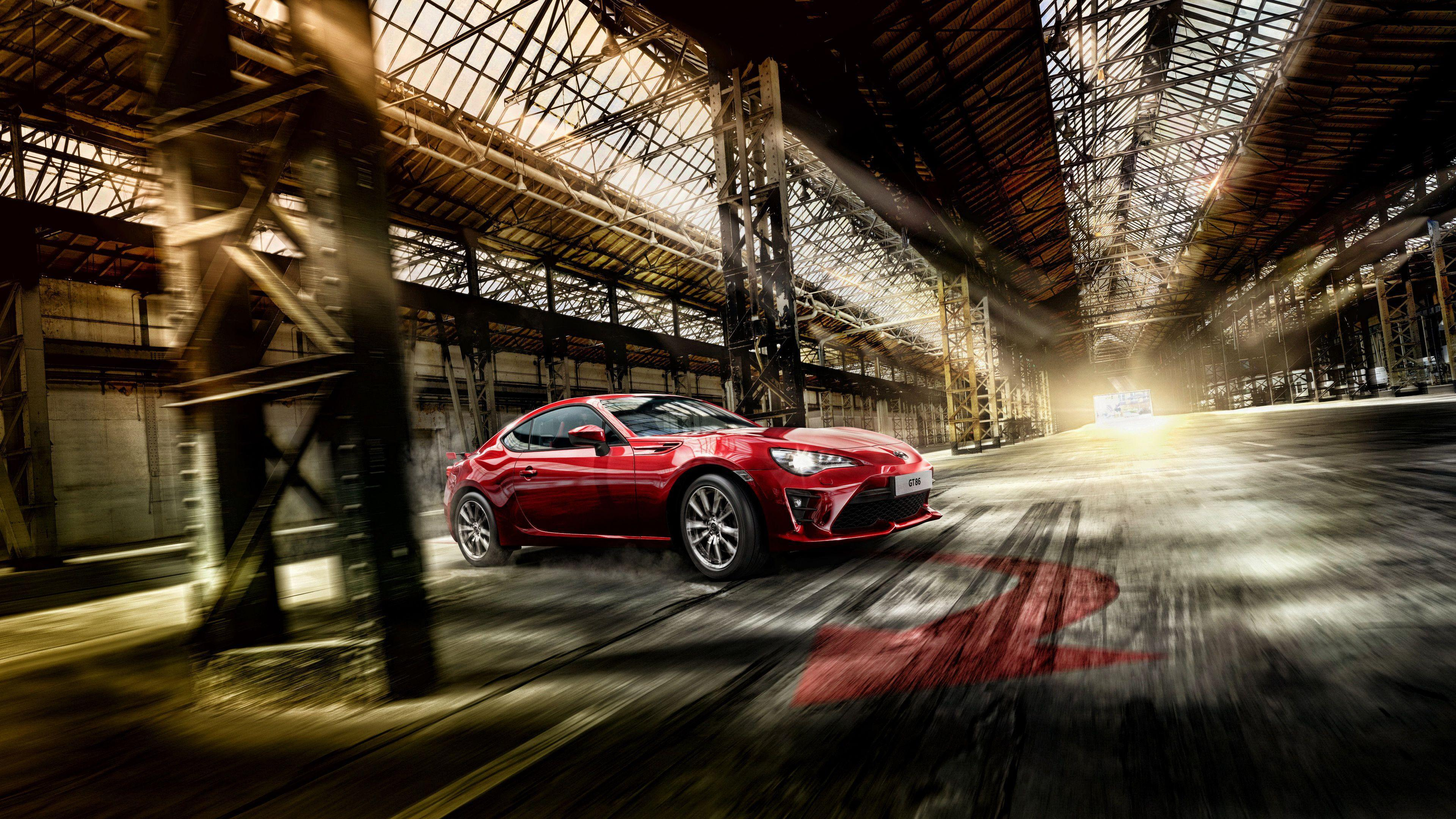 Toyota 86 Sports Car 2017 4K Wallpapers