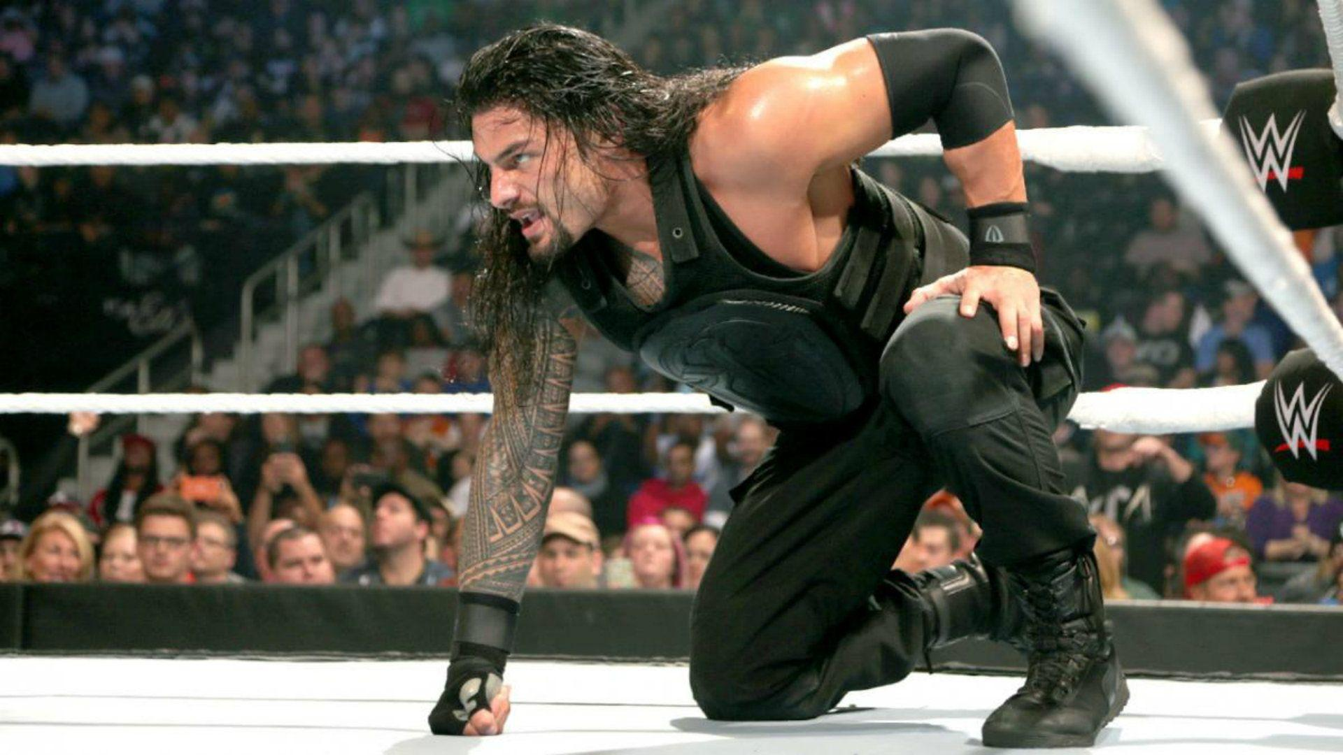 Roman Reigns Spear Wallpapers Wallpaper Cave