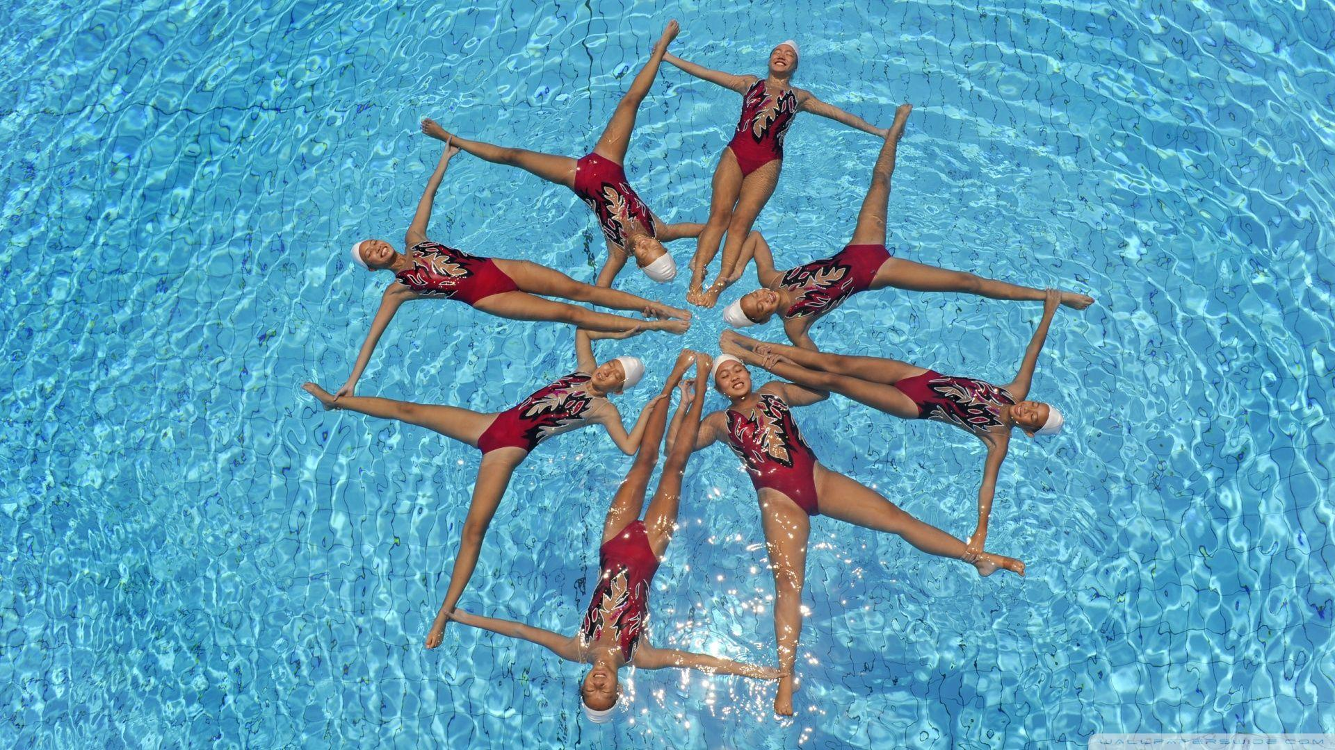 Synchronized Swimming HD desktop wallpapers : Widescreen : High
