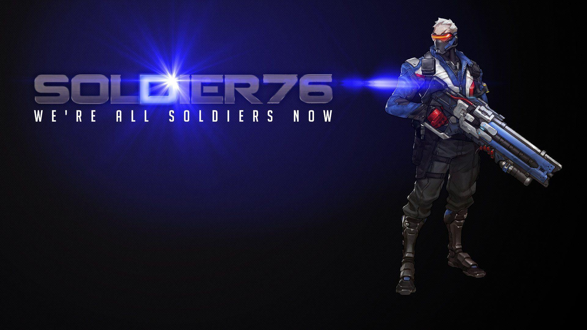 Soldier: 76 Wallpapers - Wallpaper Cave