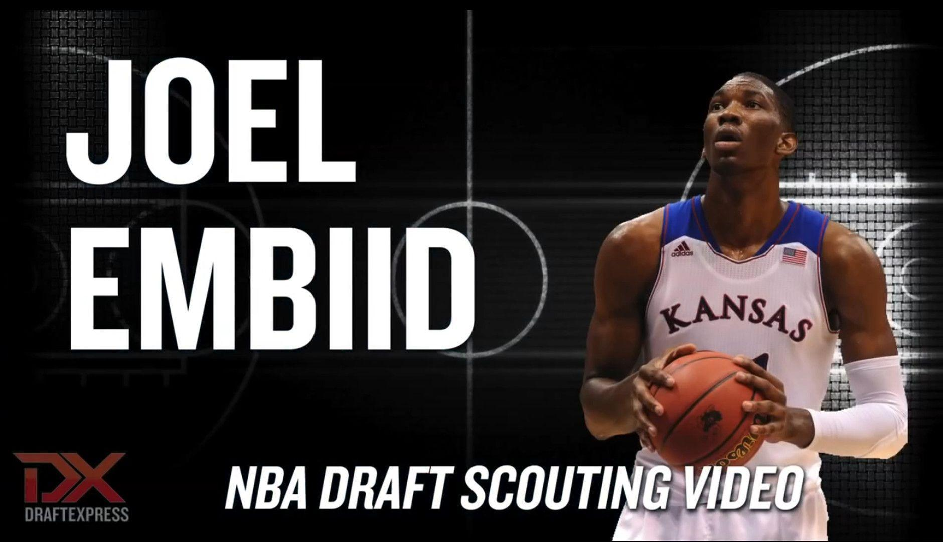 The big Joel Embiid scouting report: KU big man is the No. 1 pick ...