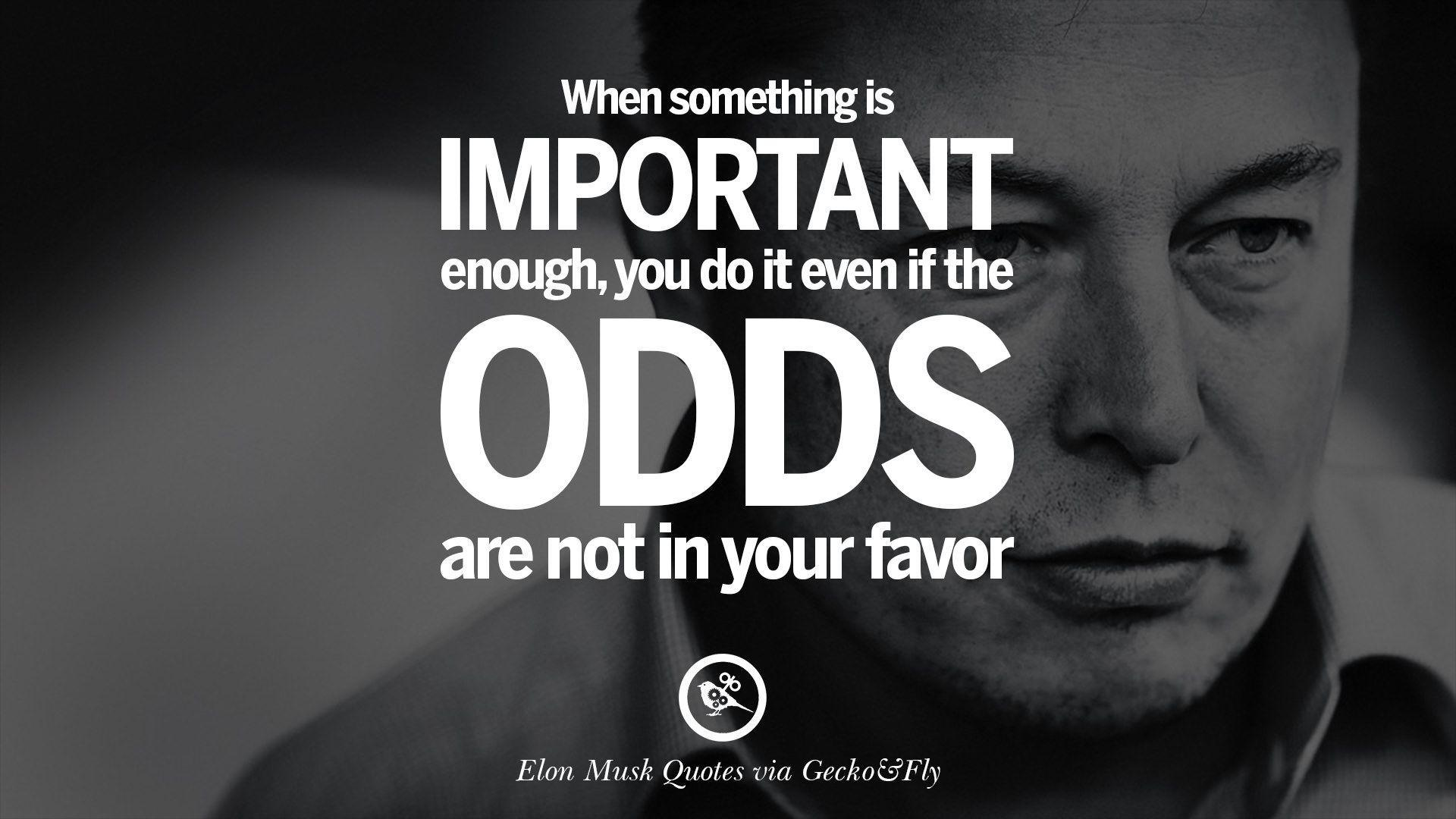 Elon Musk Quotes: Elon Musk Wallpapers
