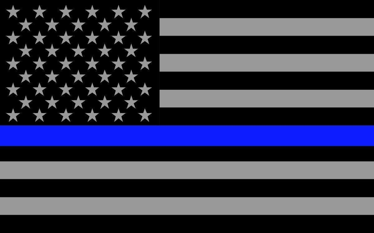 Thin Blue Line Wallpapers Wallpaper Cave
