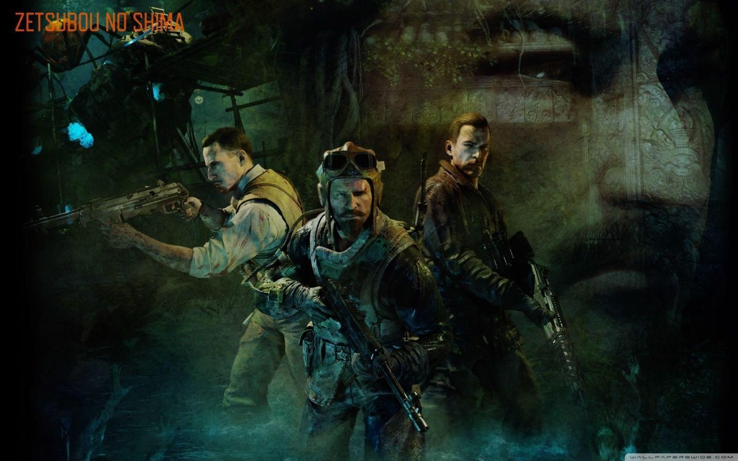 Call Of Duty Zombies Wallpapers Wallpaper Cave