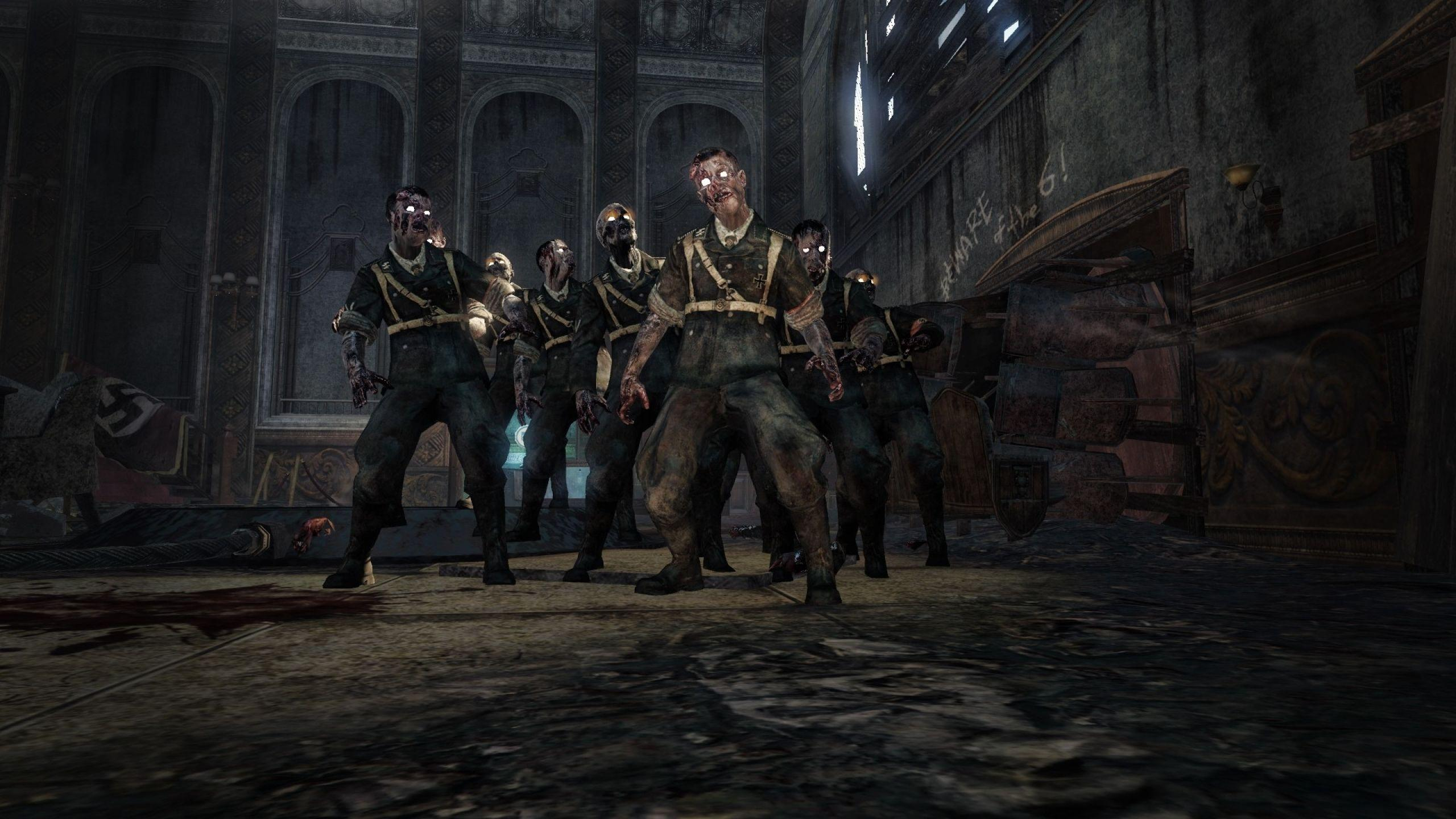 Call Of Duty Ww2 Zombies Wallpaper: Call Of Duty WW2 Zombies Wallpapers