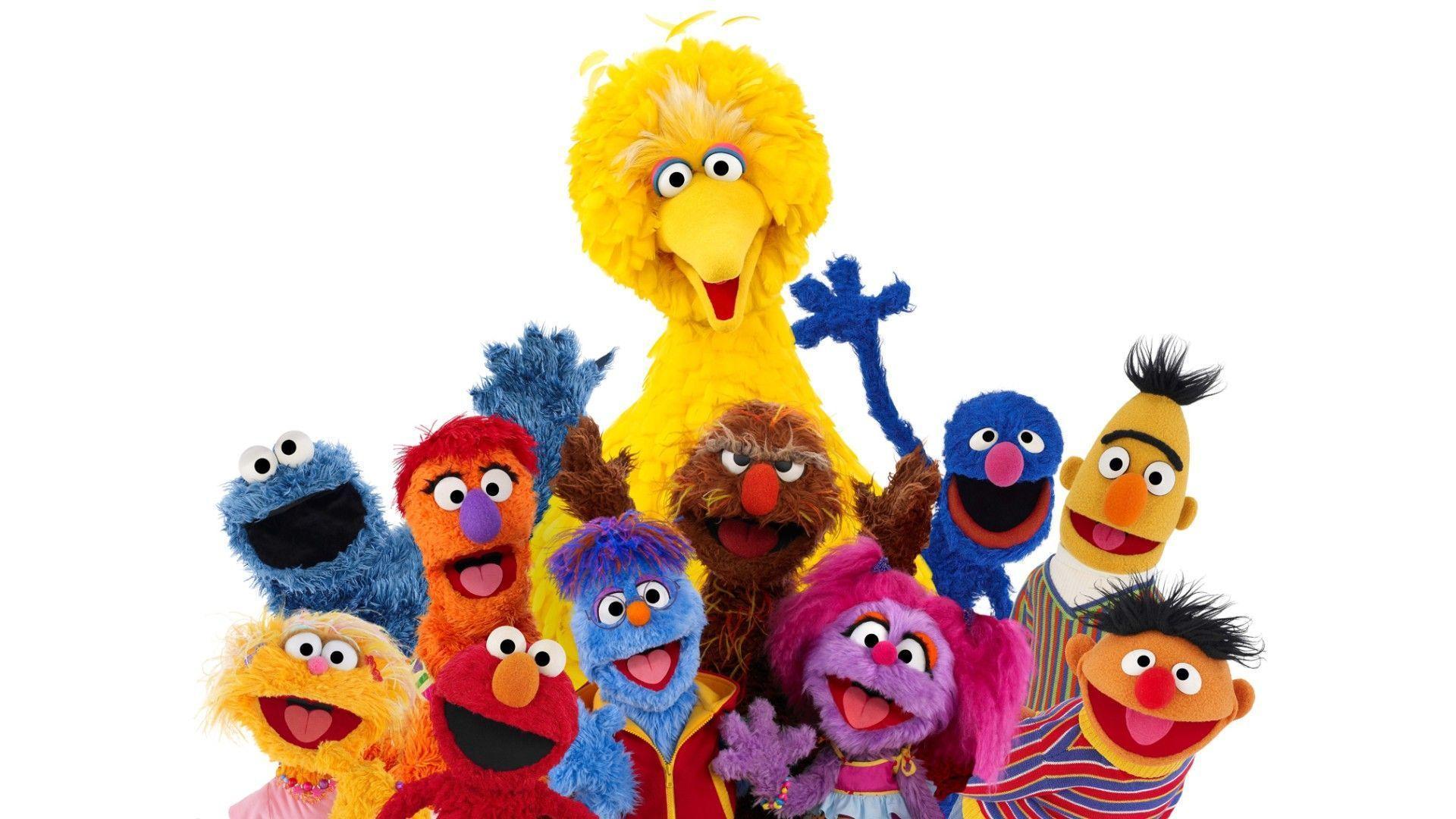 Sesame Street Zoom Background