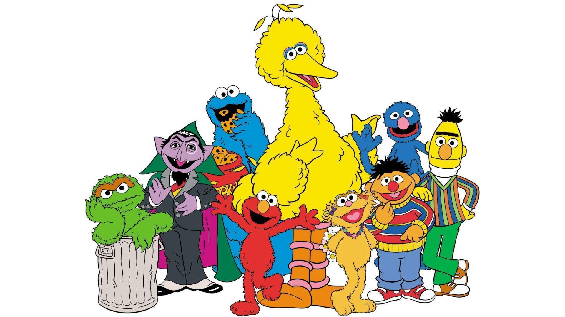 Sesame Street Zoom Background 2