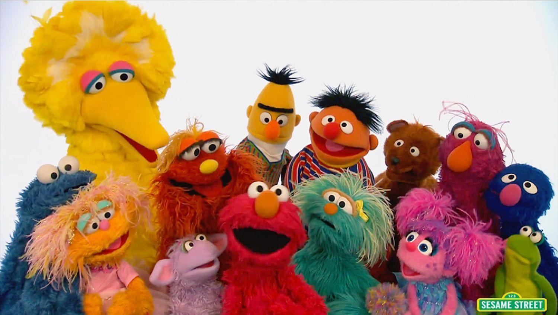 Sesame Street Zoom Background 5