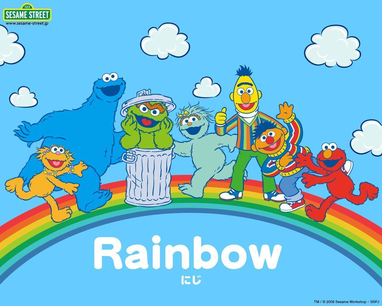 Sesame Street Zoom Background 6