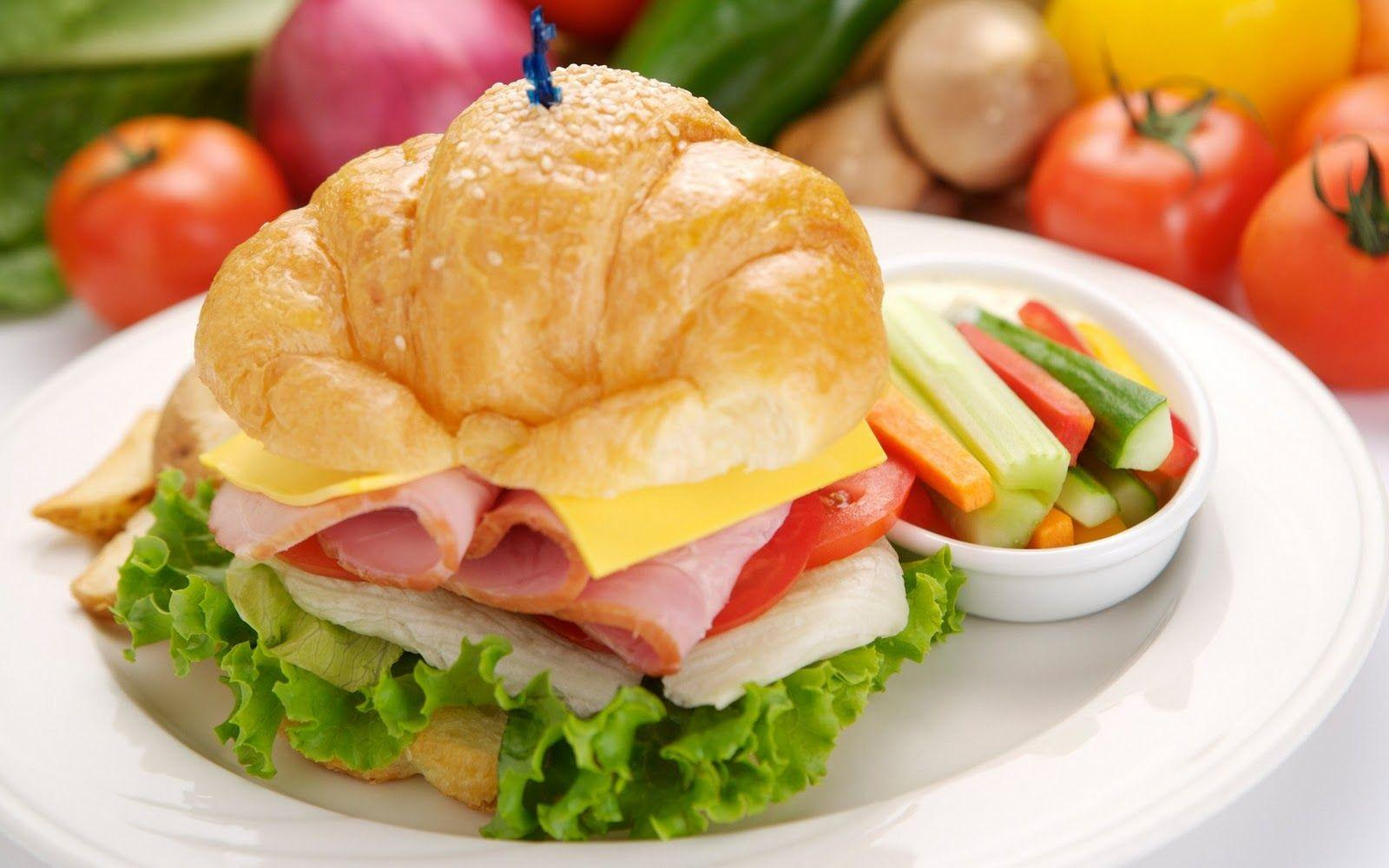 Das Sandwich-Diät-Wochenmenü