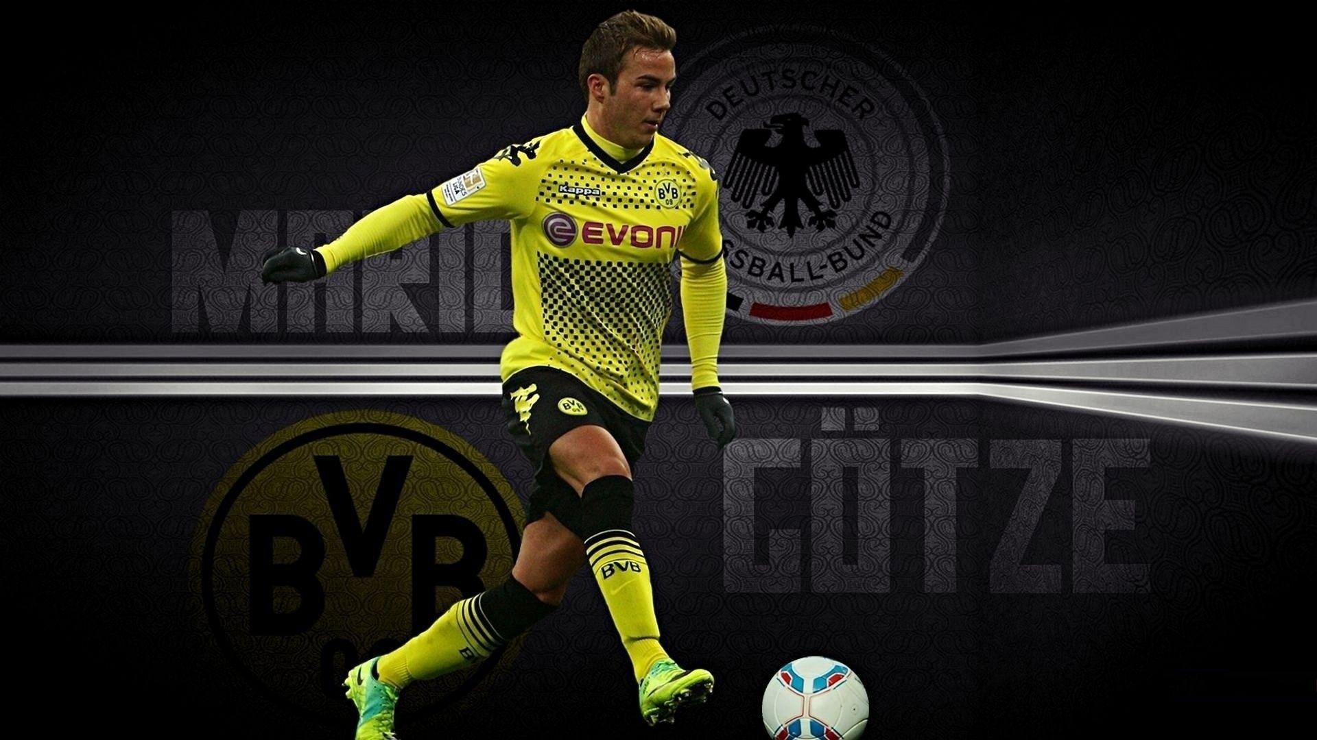 Mario Gotze Borussia Dortmund Wallpapers Wallpaper Cave