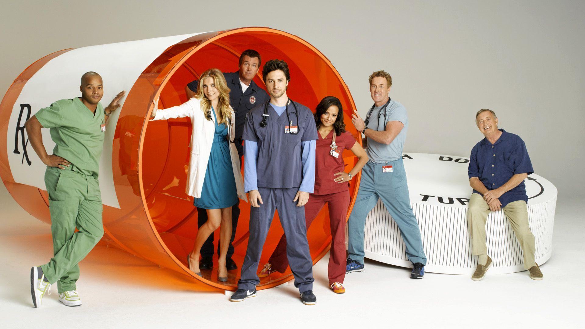 Scrubs Cast HD Wallpaper by HD Wallpapers Daily