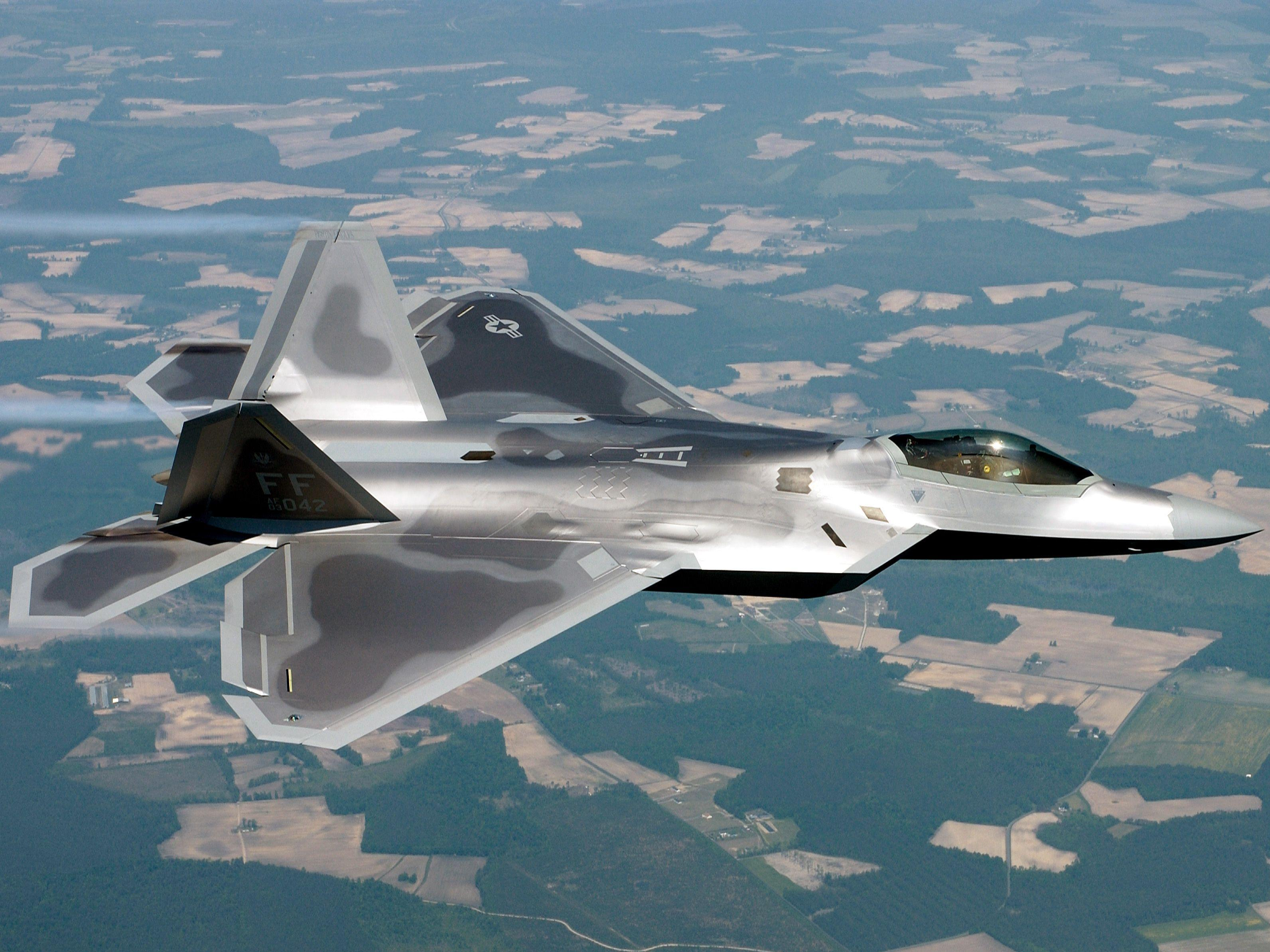 Lockheed Martin F 22 Raptor Wallpapers Wallpaper Cave