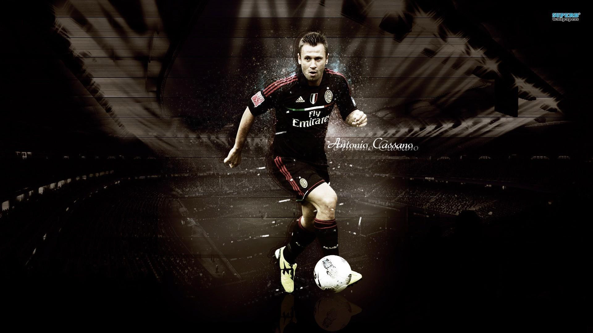 Antonio cassano inter milan futbol futebol calcio wallpapers