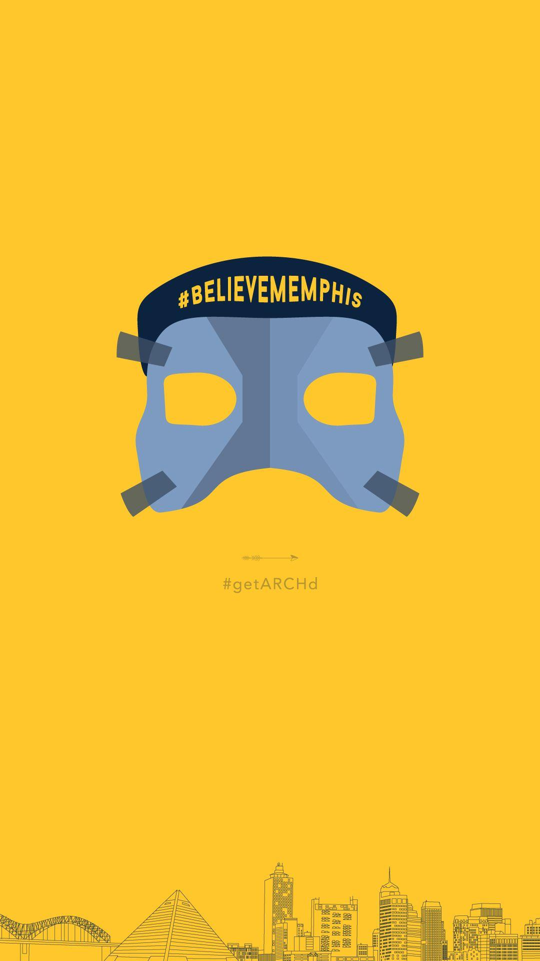 Memphis Grizzlies Mike Conley mask, Believe Memphis, iphone ...