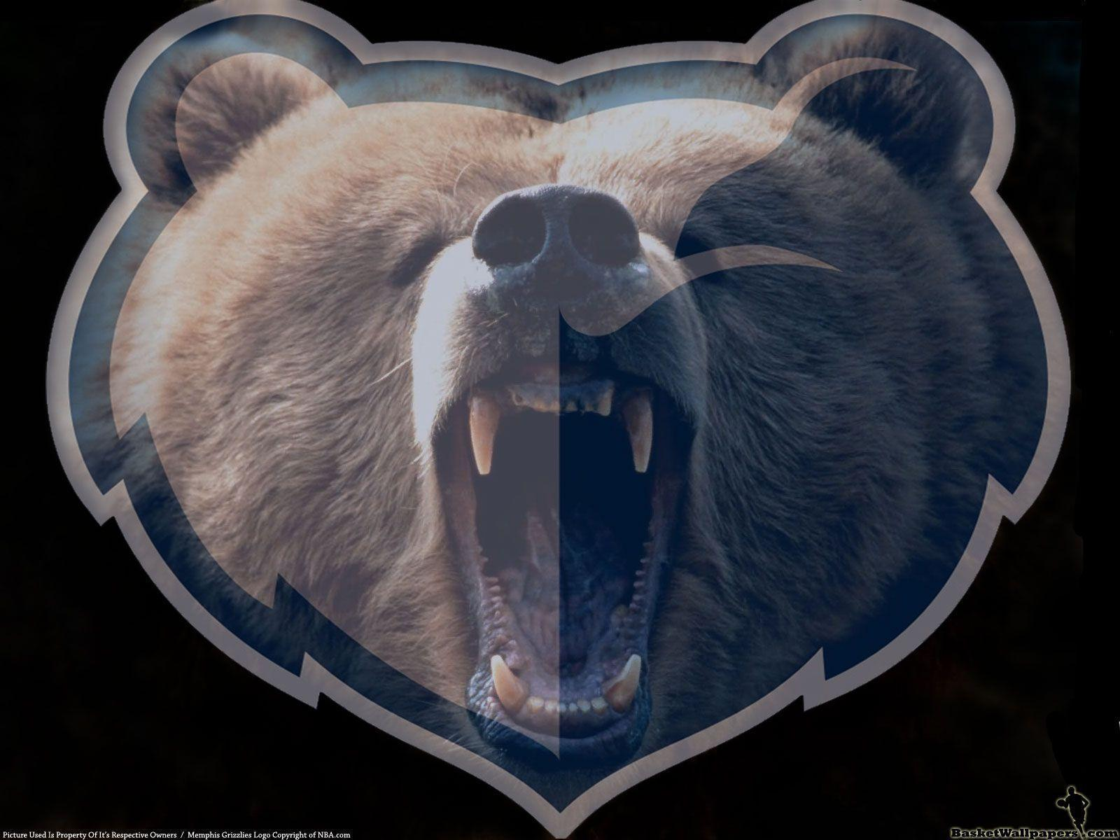 Memphis Grizzlies Animal Logo Wallpaper | BEWARE OF THE BEAR ...