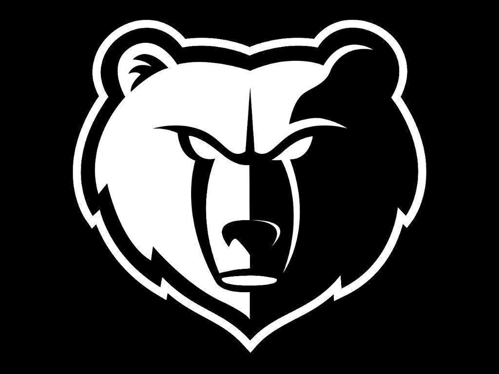 memphis grizzlies logo | Memphis Grizzlies Black & White (by ...