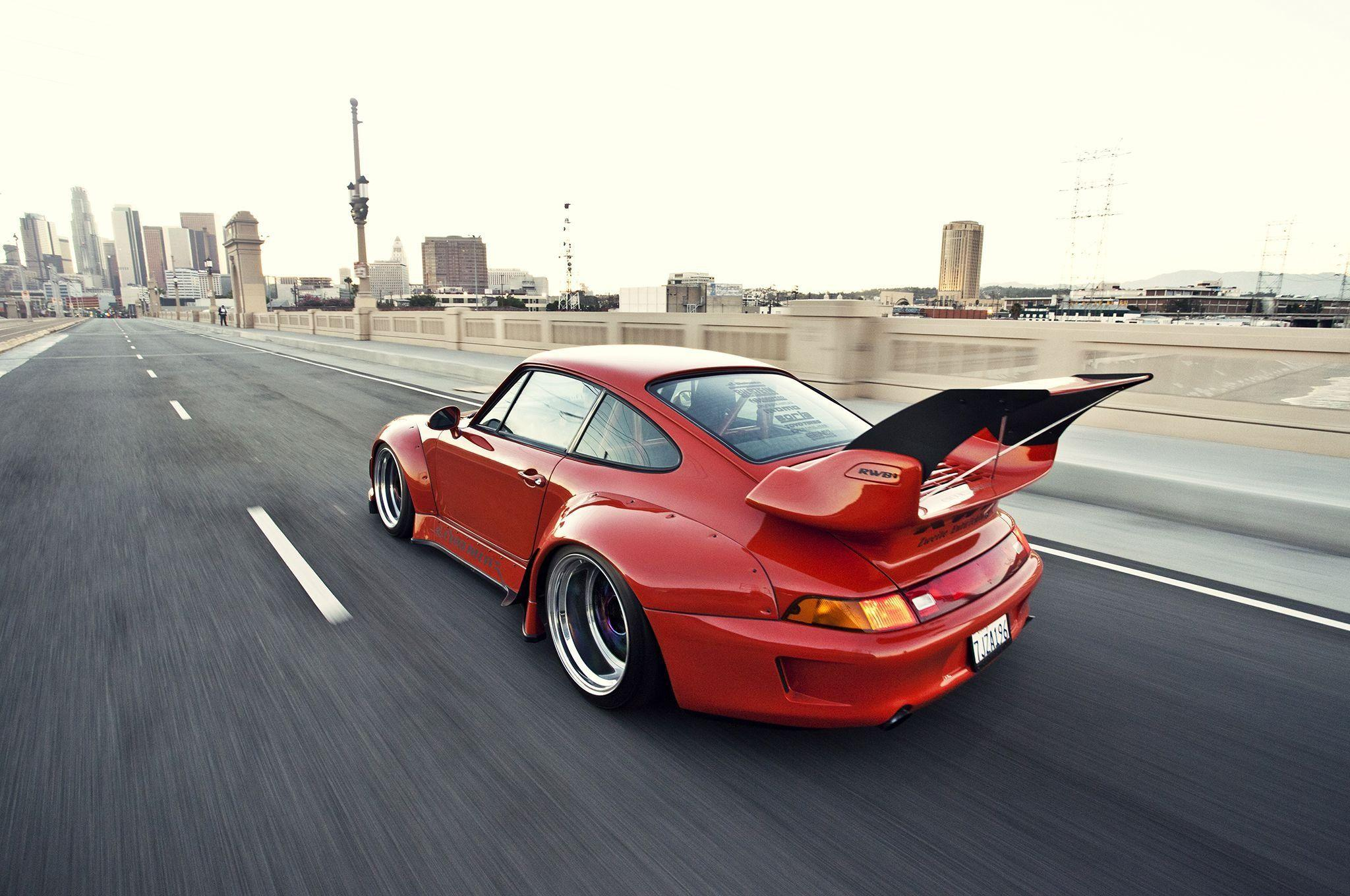 1995 porsche 911 widebody kit rwb coupe cars wallpapers