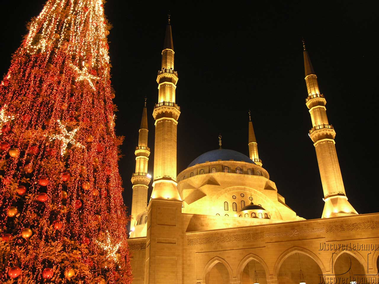 Wallpapers, HD high resolution image of Lebanon Mosque Beirut