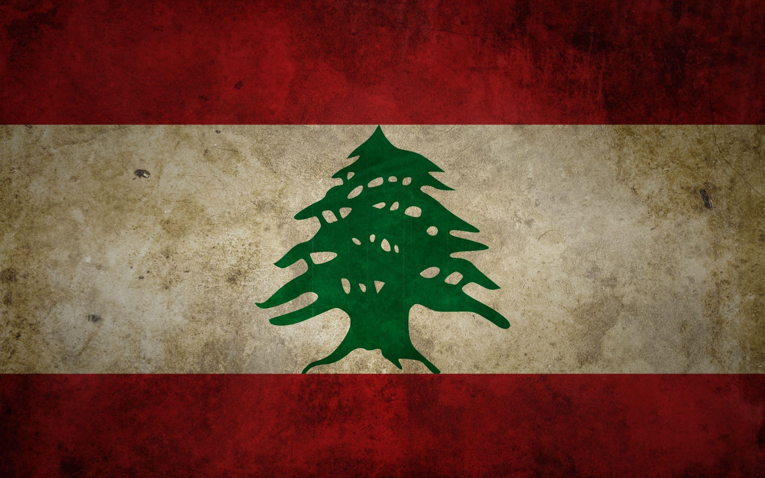 Download Wallpapers, Download 2560x1600 grunge flags lebanon