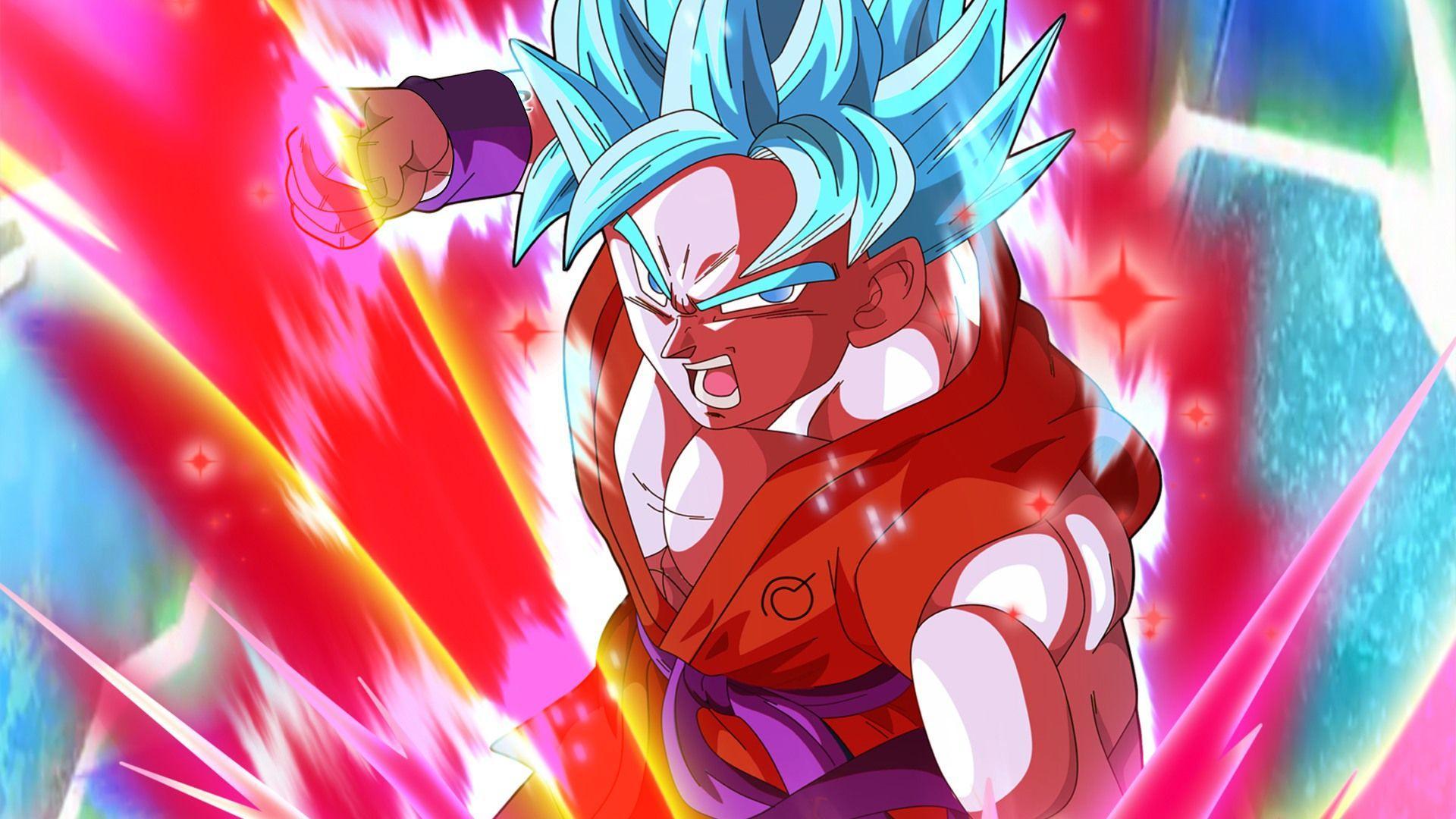 Goku Super Saiyan Blue Wallpapers Wallpaper Cave