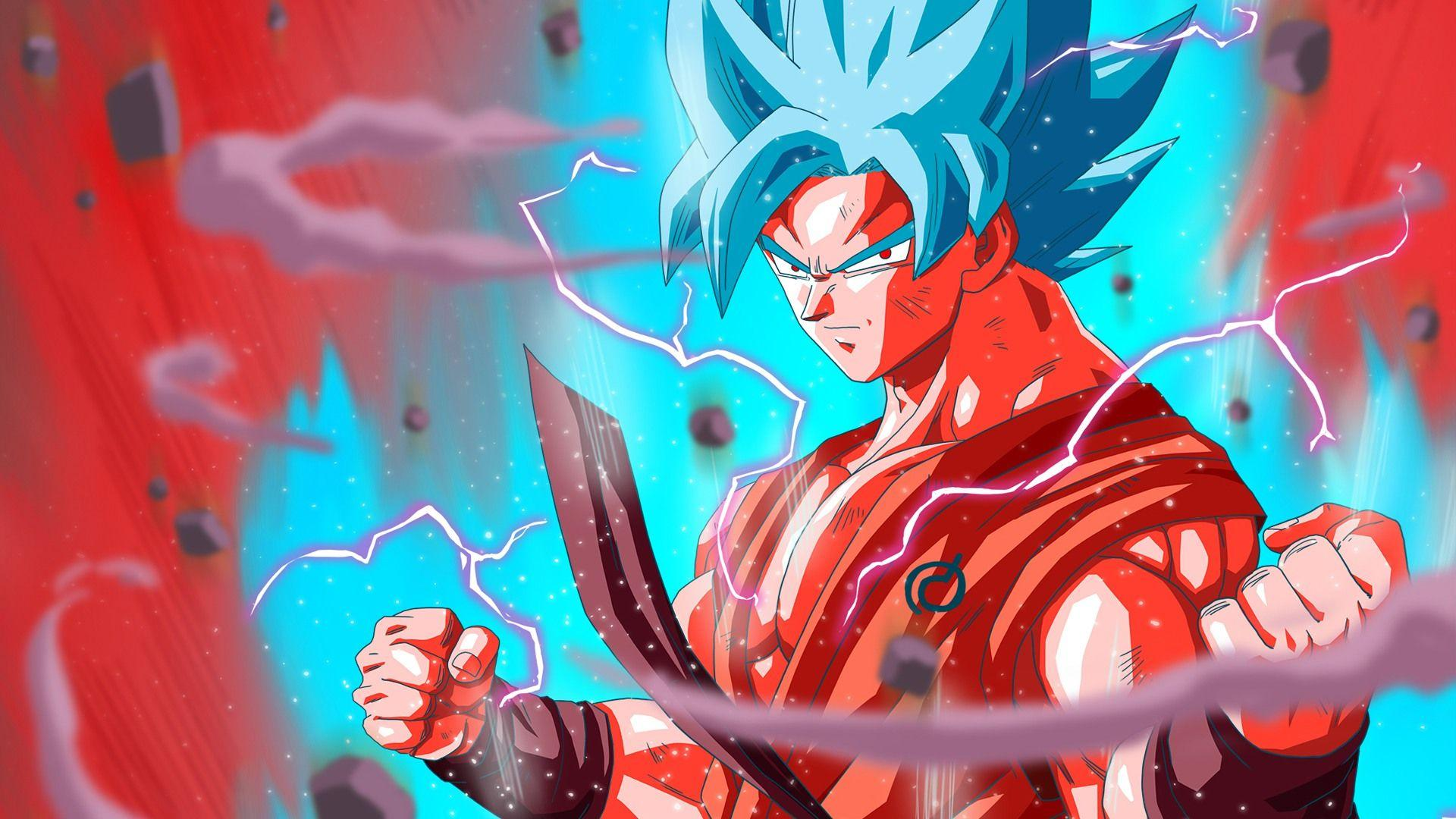 Goku Super Saiyan Blue Wallpapers Wallpaper Cave
