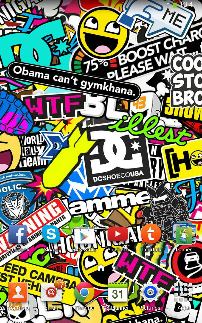 Stickerbomb Wallpapers Wallpaper Cave