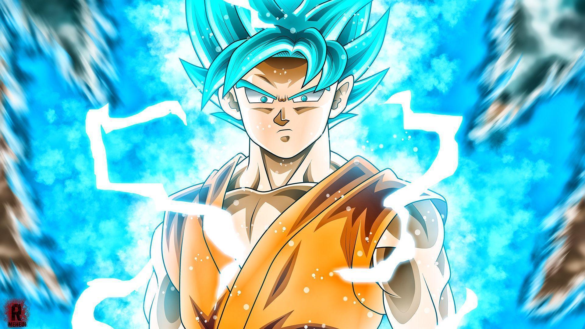 Goku super saiyan blue wallpapers wallpaper cave - Super saiyan live wallpaper ...