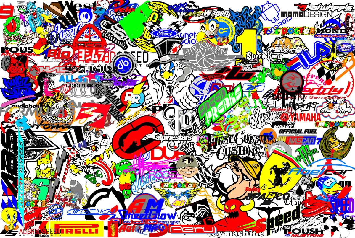 Stickerbomb Wallpapers Wallpaper Cave Interiors Inside Ideas Interiors design about Everything [magnanprojects.com]