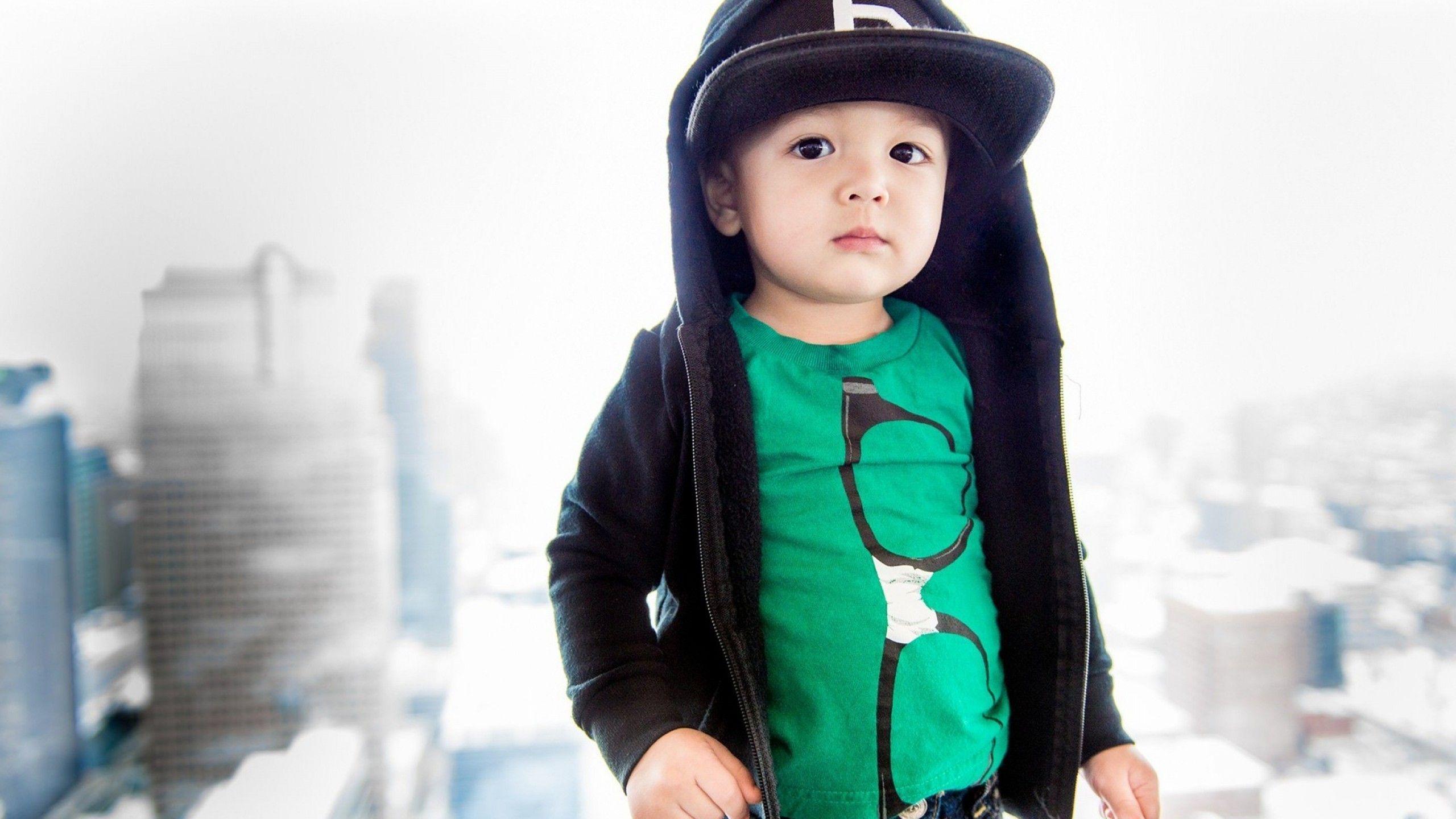 Baby fashionable boy photo new photo
