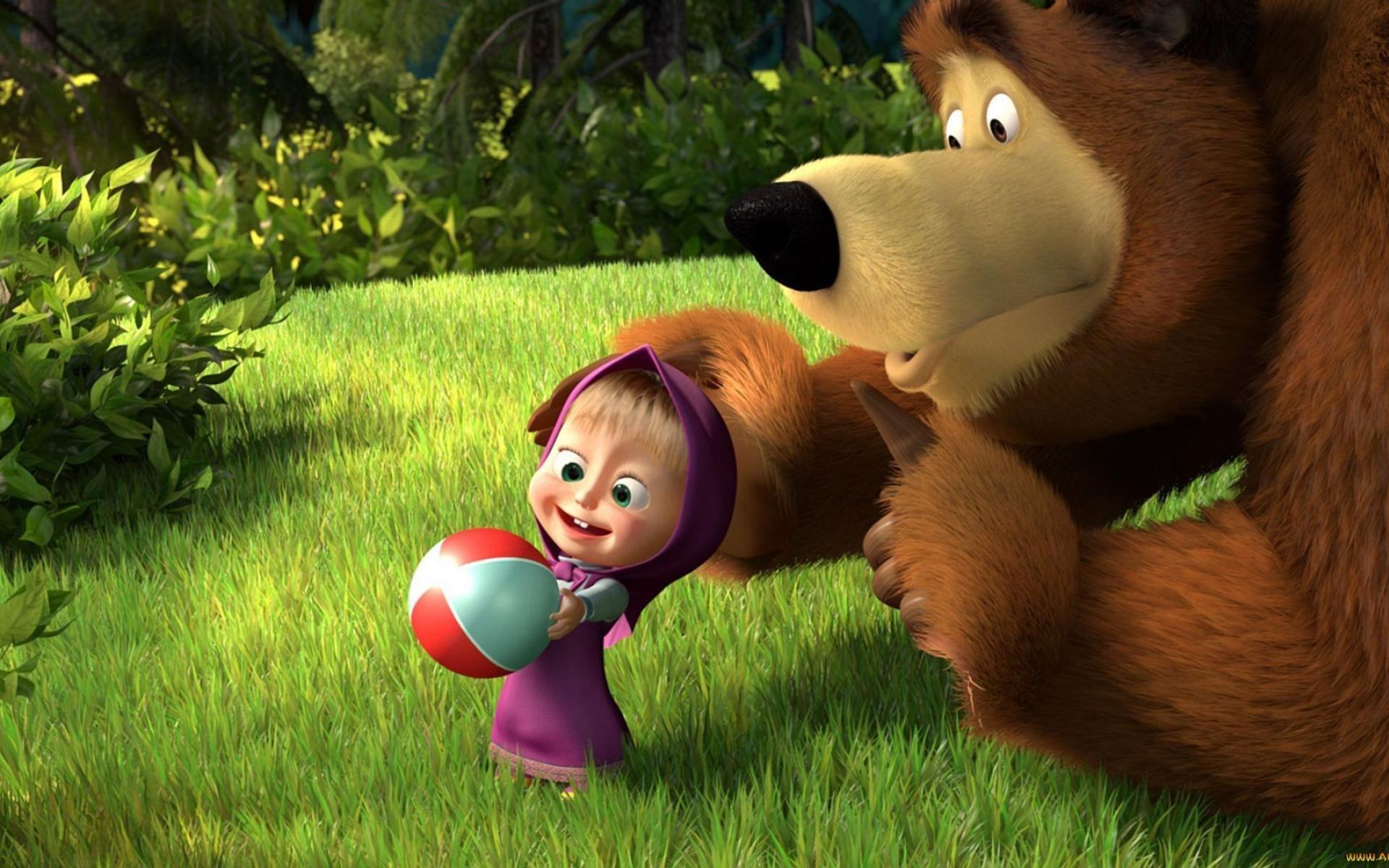 Masha and the bear Teams Background 4