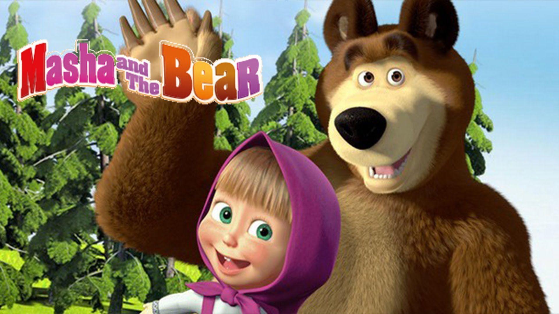 Masha and the bear Teams Background 5