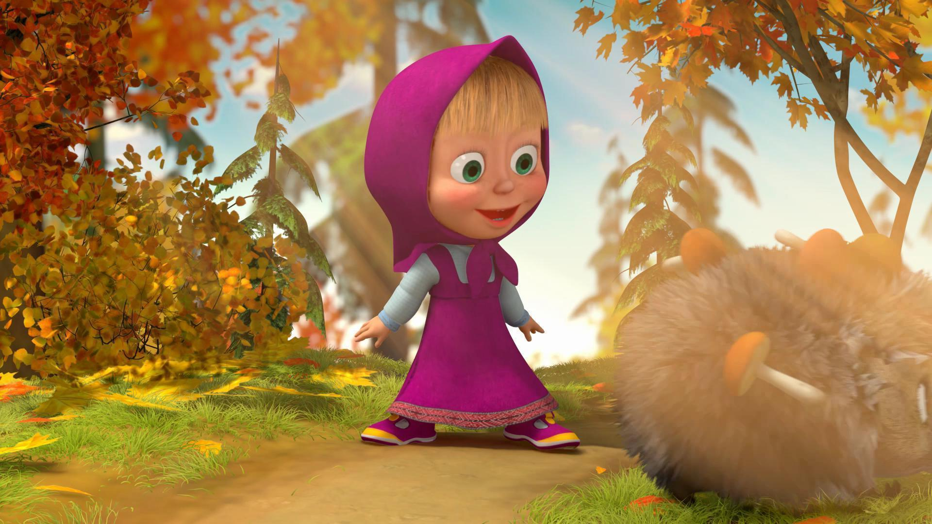Masha And The Bear Wallpapers Wallpaper Cave
