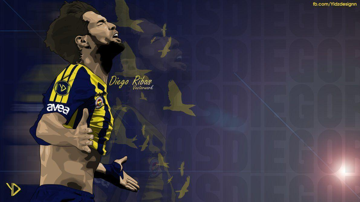 Diego Ribas Vector with Fenerbahce SK by YldzDesignn on DeviantArt