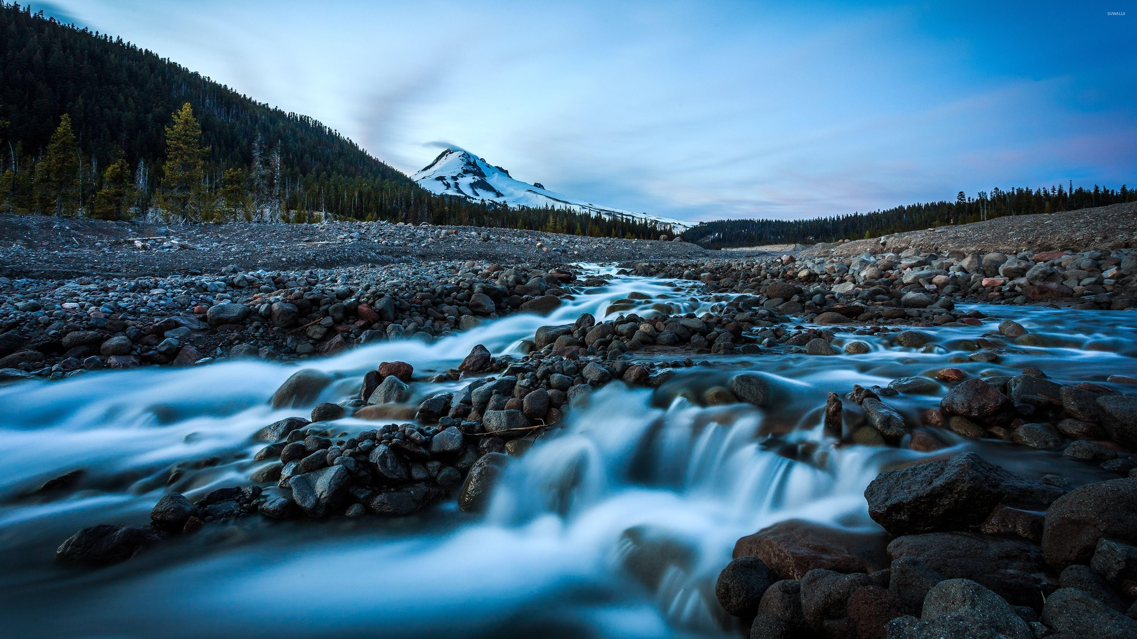 Rocky mountain river wallpapers