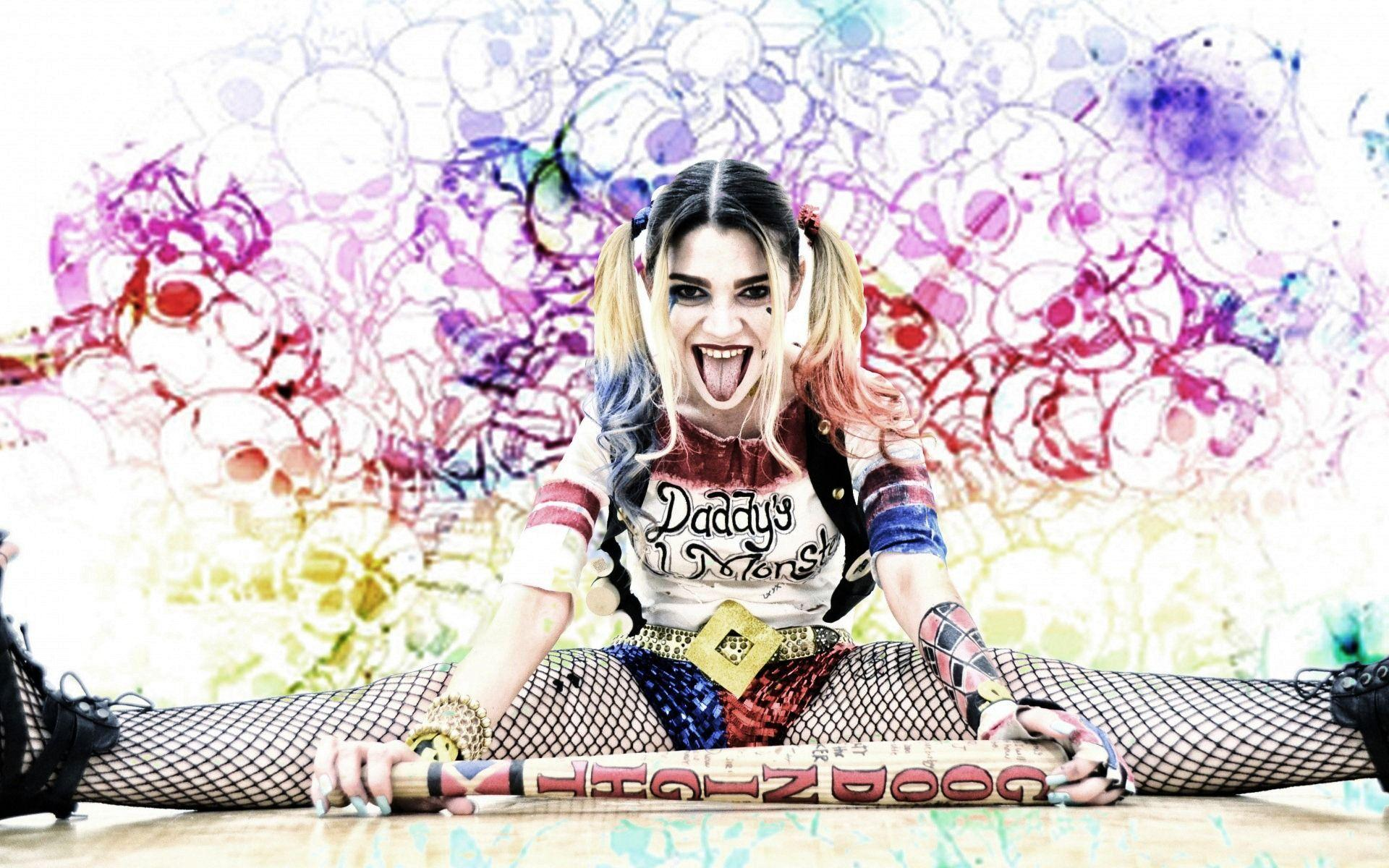 Harley quinn suicide squad wallpapers wallpaper cave for Harley quinn wallpaper