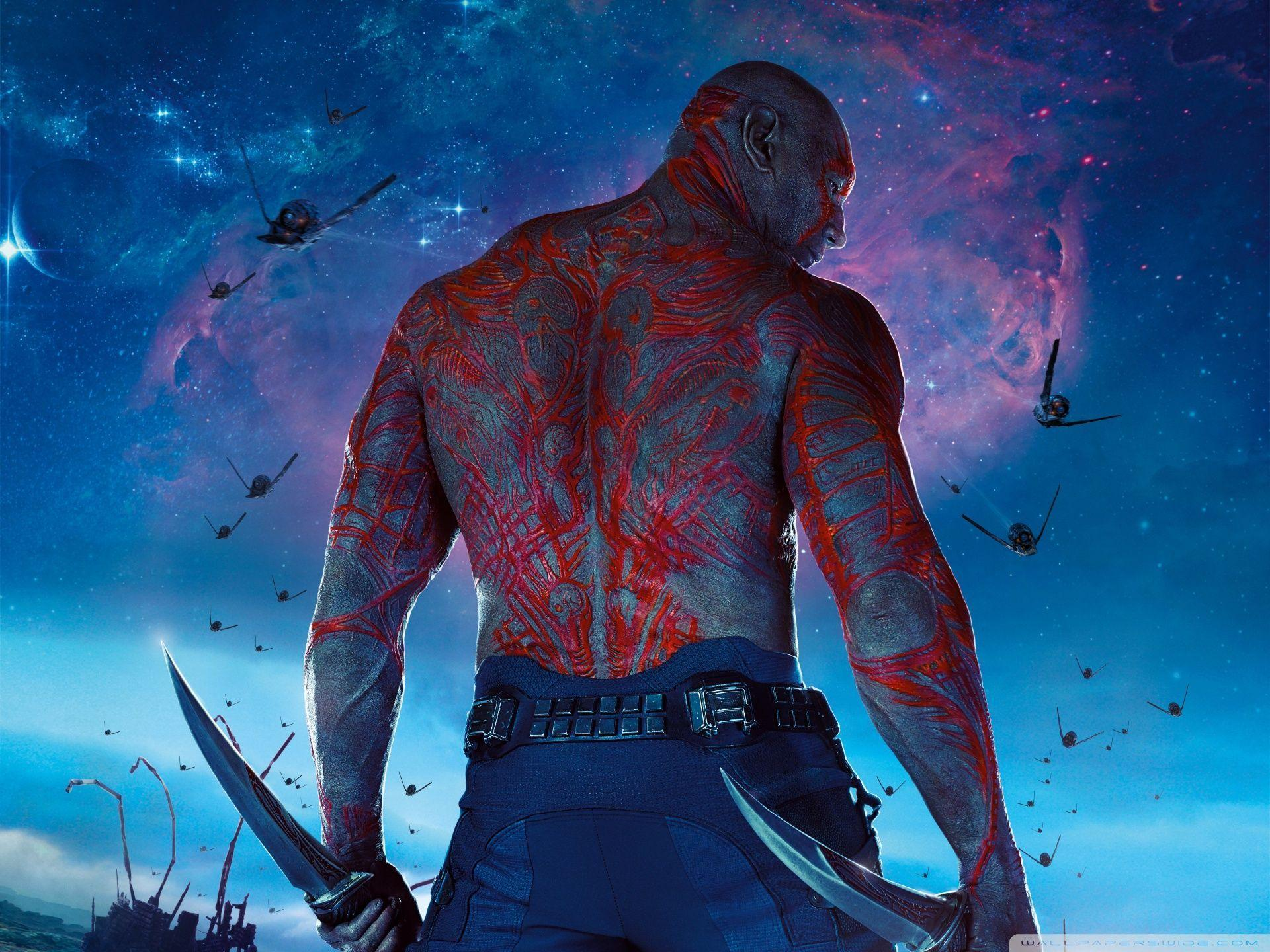 Drax The Destroyer Wallpapers Wallpaper Cave