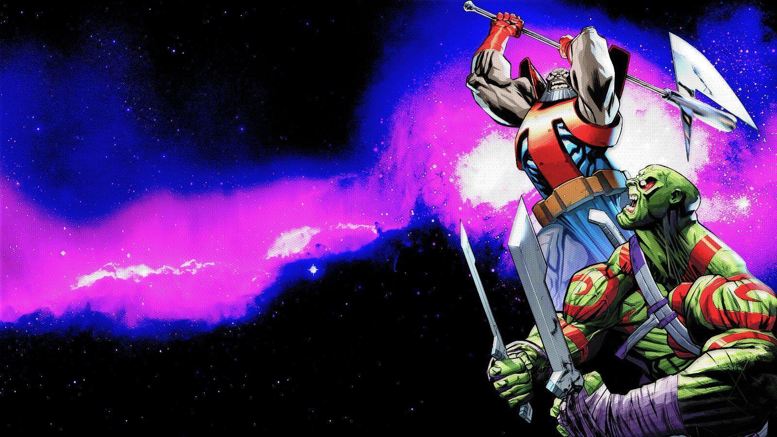 Drax The Destroyer Vs Terrax Wallpapers by Franky4FingersX2 on