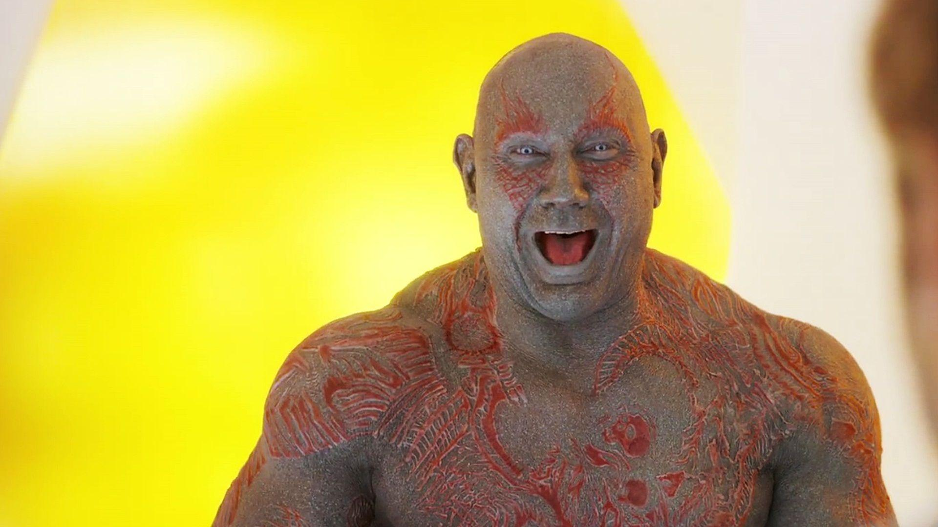 Guardians Of The Galaxy Vol. 2 Dave Bautista Drax The Destroyer
