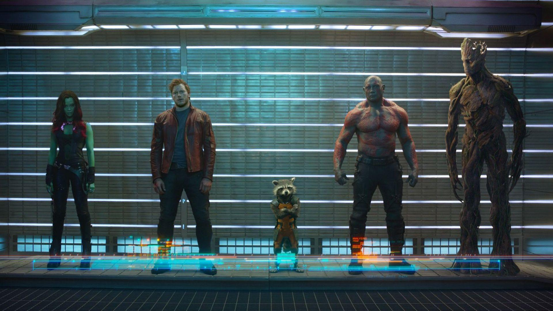 Guardians Of The Galaxy Groot Drax Destroyer Science Fiction Star