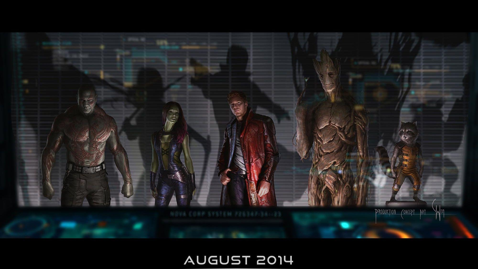 165 Guardians of the Galaxy HD Wallpapers