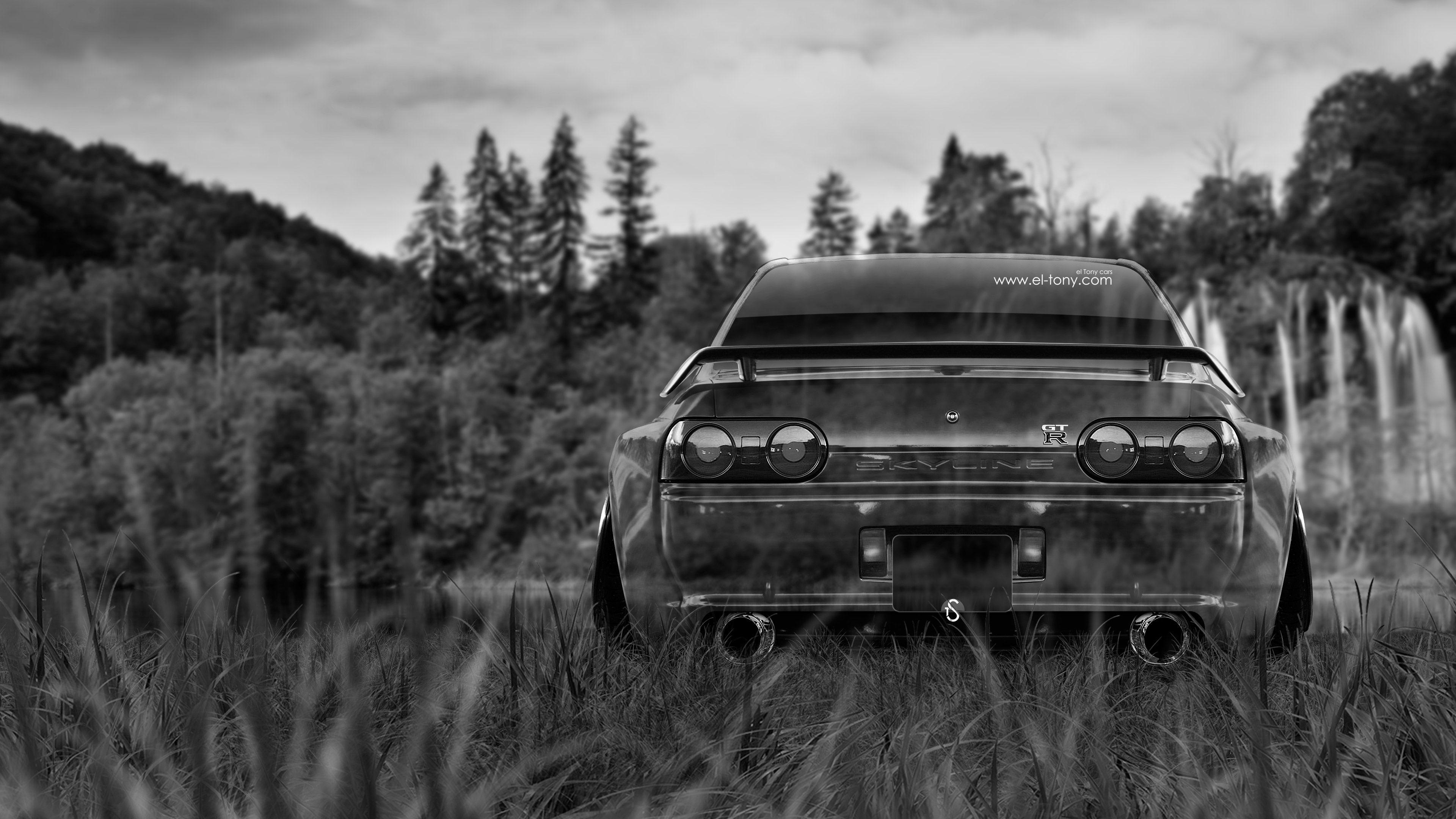 Nissan Skyline GTR R32 JDM Back Crystal Nature Car 2015 Wallpapers .