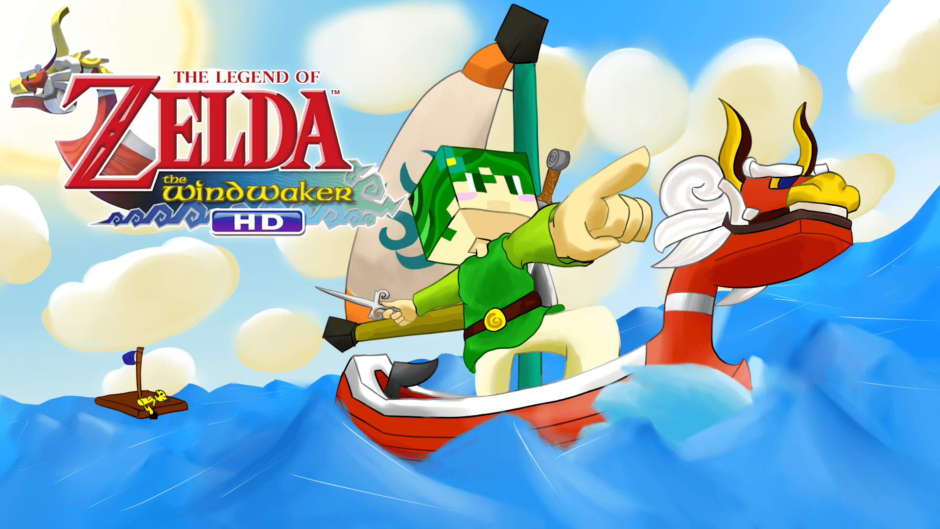 The Legend Of Zelda The Wind Waker Hd Wallpapers Wallpaper Cave