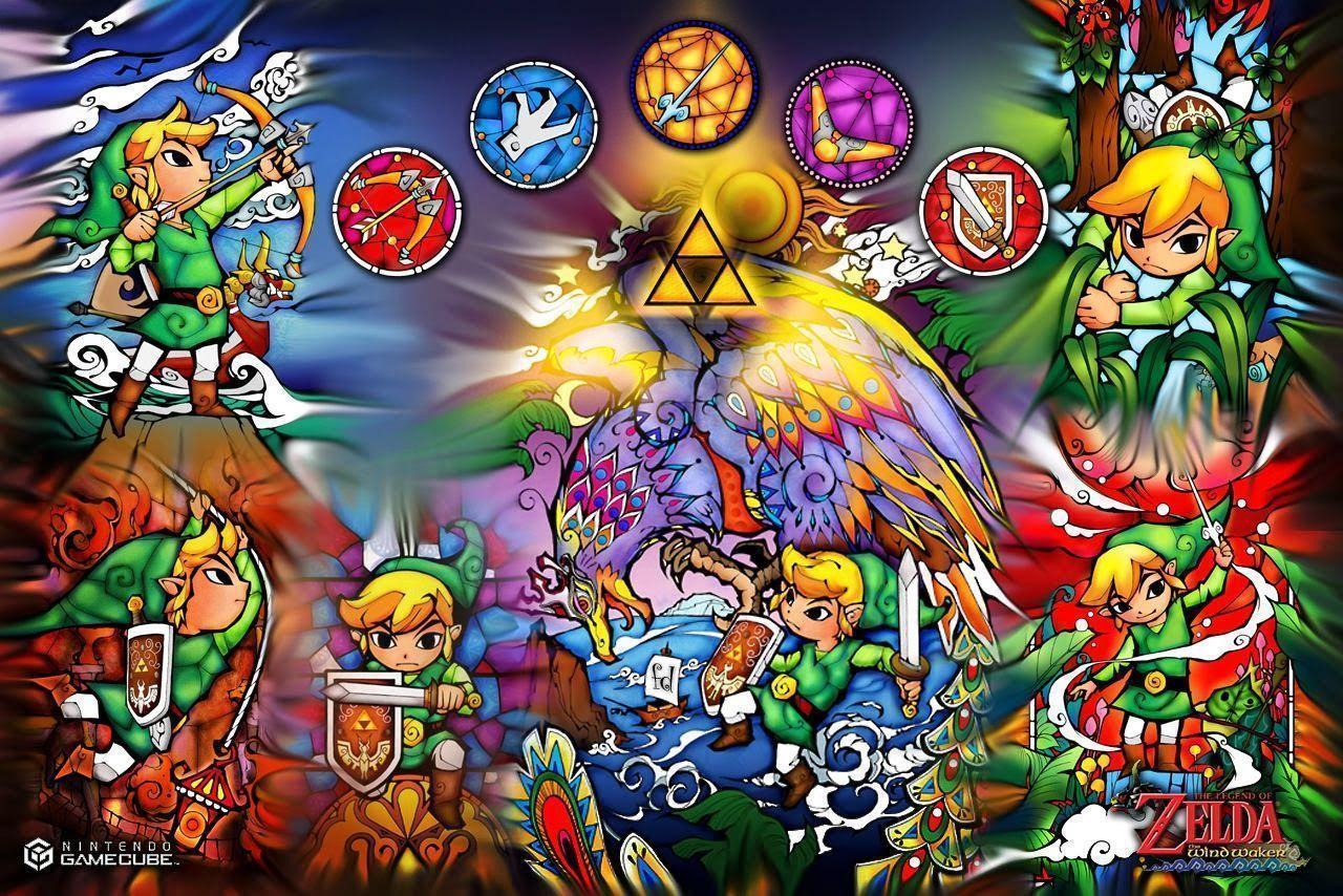The Legend Of Zelda The Wind Waker Hd Wallpapers Wallpaper Cave