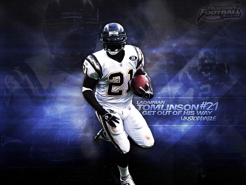 Awesome Nfl Rb Player Wallpapers: LaDainian Tomlinson Wallpapers