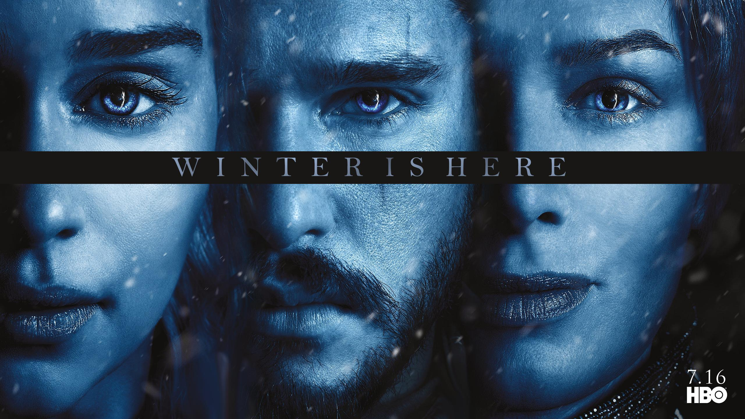 S7] Game Of thrones Season 7 Posters Wallpapers 2560 x 1440
