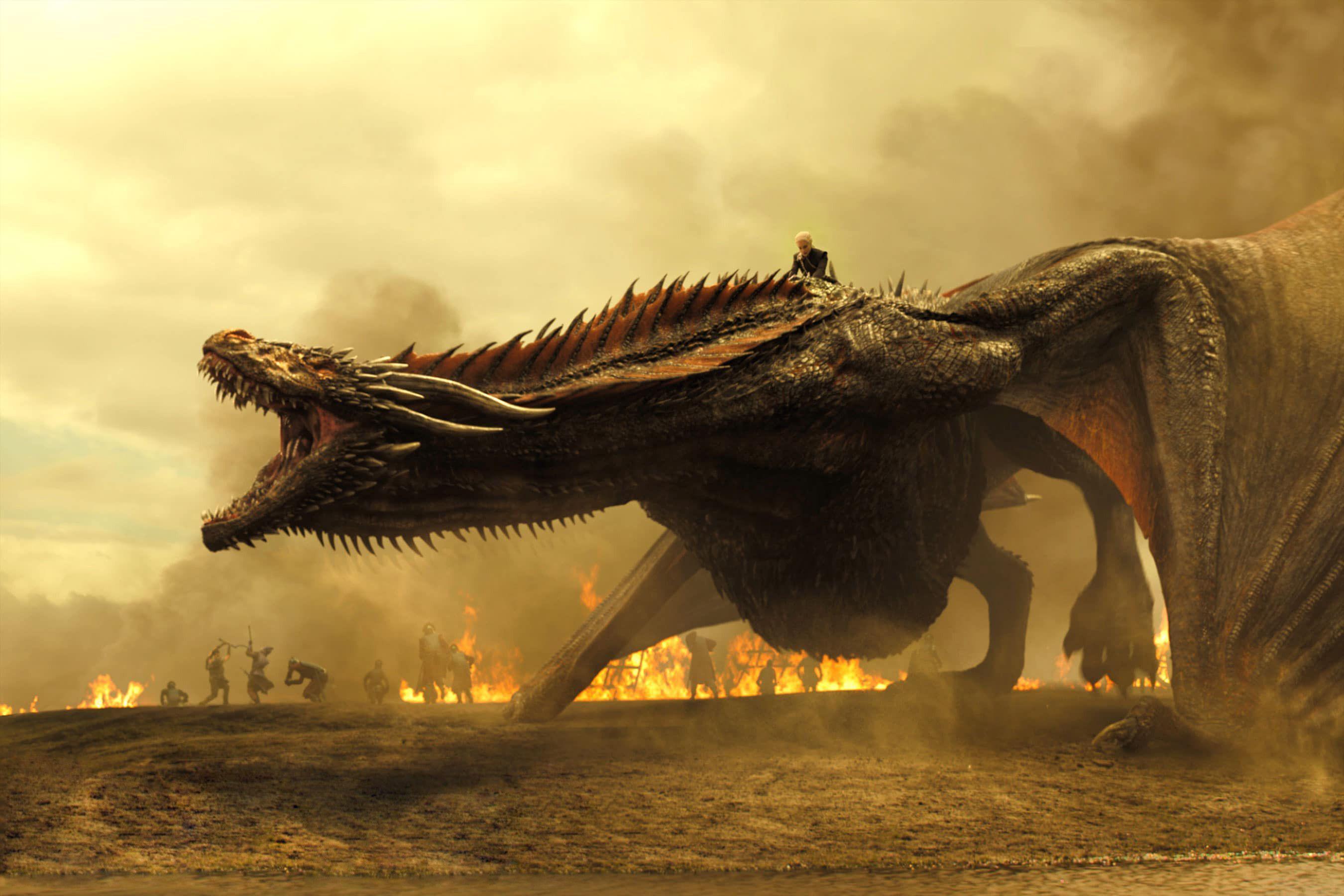 Game Of Thrones Season 7 Dragon And Khaleesi, HD Tv Shows, 4k .